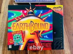 EarthboundSuper Nintendo SNES CIB Box Strategy Guide Scratch Sniff Stickers