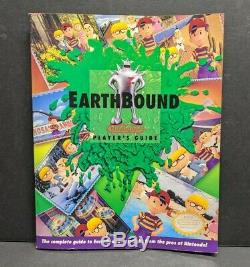 Earthbound Big Box CIB Complete Super Nintendo SNES with Scratch n Sniffs Reg NICE