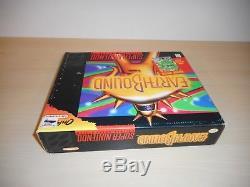 Earthbound Complete Super Nintendo SNES Game CIB Big Box Original Earth Bound