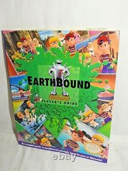 Earthbound Complete in Big Box CIB Authentic Super Nintendo SNES Earth Bound