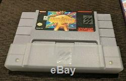 Earthbound For Snes Super Nintendo Cib Complete In Box Rpg Authentic