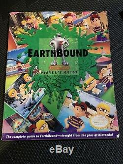 Earthbound SNES Authentic Complete In Box Nintendo Tough Find Super Nintendo