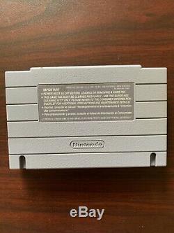 Earthbound SNES Super Nintendo Authentic