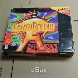 Earthbound SNES Super Nintendo Big Box Only NO GAME Rare Rough Shape Authentic