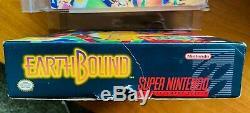 Earthbound Super Nintendo SNES CIB Complete with Box Guide Cart RPG RARE