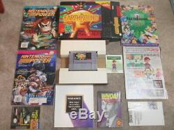 Earthbound (Super Nintendo SNES) Complete CIB with Magazines + 1 Scratch n Sniff
