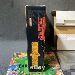 Earthbound Super Nintendo SNES Complete in Box Big Box NTSC Free Ship
