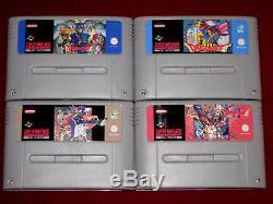 English PAL DRAGON QUEST I II III V VI 2 3 5 6 For Super Nintendo SNES Warrior