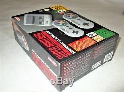 Europe Version Nintendo Super NES Classic Edition SNES Mini Authentic Brand New