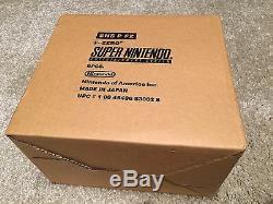 F-Zero 6 pcs (Super Nintendo) SNES Sealed Case of 6 BRAND NEW