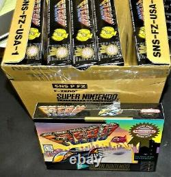 F-Zero Fzero Super Nintendo SNES NEW Factory Sealed MINT