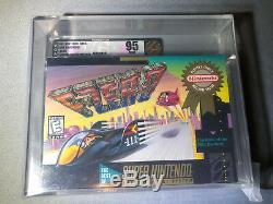 F-Zero Super Nintendo Snes Ganz Neu Verpackt Spiel VGA 95