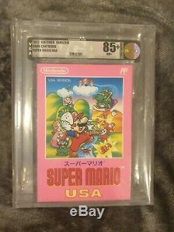 Factory Sealed Vga Super Mario USA Super Nintendo Snes Famicom Ntsc