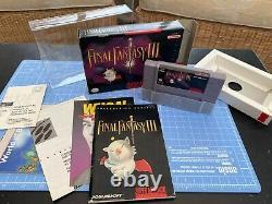 Final Fantasy III (Super Nintendo Entertainment System) NTSC CIB