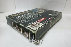 Final Fantasy II 2 ii FF Super Nintendo SNES RPG Map Box Manual Complete CIB Lot