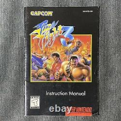 Final Fight 3 Super Nintendo SNES Capcom Video Game Complete CIB