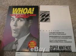 Final Fight Guy (Super Nintendo SNES) Game + Box with Inserts VERY NICE