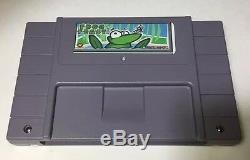 Frog Feast Super Nintendo Snes Very Rare Original Homebrew 2 Of 24