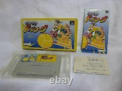 GO GO DODGE LEAGUE Super Famicom SNES Japan Game SFC Nintendo Video Games