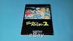 Guide du Jeu Super Nintendo SNES pocky & Rocky 2