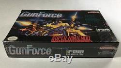 GunForce (Super Nintendo SNES) Brand NEW Factory Sealed Gun Force