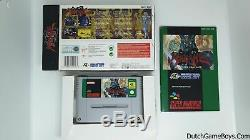 Hagane Super Nintendo SNes Complete 100% Original