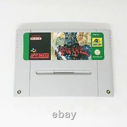 Hagane The Final Conflict Super Nintendo SNES Boxed complete UK (EUR) PAL
