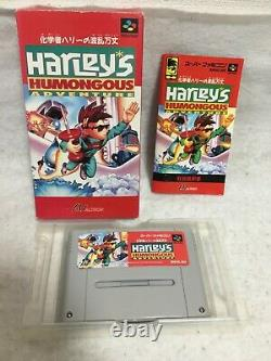 Harleys Adventure Nintendo Super Famicom SNES Japan Video Games