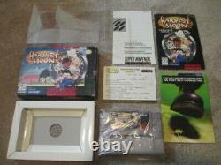 Harvest Moon (Super Nintendo SNES) Complete CIB NICE