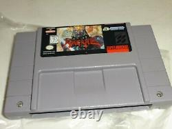 Hudson Soft HAGANE Super Nintendo SNES Complete in Box CIB EXCELLENT