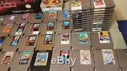 Huge lot of 65 SNES & NES games 3 ConsolesSuper NintendoCIB NESChrono Trigger