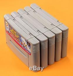 JIKKYOU PARODIUS R TYPE shooter 5 set Nintendo Super Famicom SNES FREE Shipping