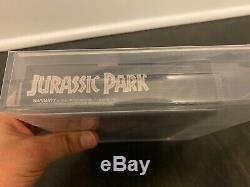 JURASSIC PARK Super Nintendo SNES VIDEO GAME NEW IN BOX SEALED VGA GRADED 80+
