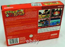 Jeu SUPER MARIO WORLD 2 YOSHI'S ISLAND sur Super Nintendo SNES Neuf PAL NEW