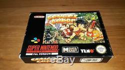 Jeu Super Nintendo SNES Congo's Caper complet NOE