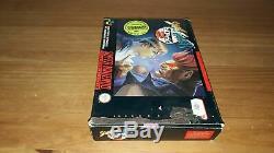 Jeu Super Nintendo SNES Street Fighter Alpha 2 complet