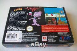 Jeu Super Nintendo SNES Super Widget complet