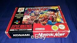 Jeu Super Nintendo SNES The Legend of Mystical Ninja complet