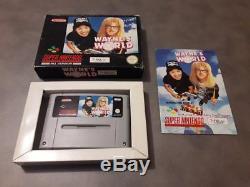 Jeu Super Nintendo SNES Wayne's World complet