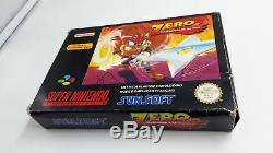 Jeu Super Nintendo SNES Zero the Kamikaze Squirrel complet
