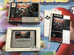 Juego Completo Super Nintendo Snes Castlevania IV 4 Pal España 100% Original CIB