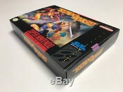 Kendo Rage (Super Nintendo SNES) CIB 100% Complete + Poster