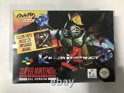 Killer Instinct SNES Super Nintendo Boxed Complete