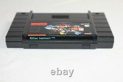 Killer Instinct SNES Super Nintendo Complete CIB! Authentic! Great Condition