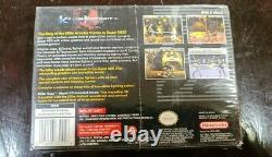 Killer Instinct (Super Nintendo Entertainment System, 1995) NIB FACTORY SEALED