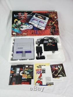 Killer Instinct Super Nintendo Snes Video Game System Bundle 1 Chip Nice