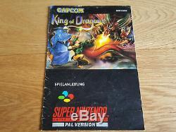 King of Dragons für SNES Super Nintendo mit OVP + Anleitung PAL CIB