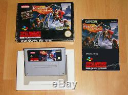 Knights Of The Round SNES Super Nintendo PAL Komplett Complete Very Rar