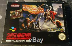Knights of the Round Snes Super Nintendo PAL Komplett CIB! TOP