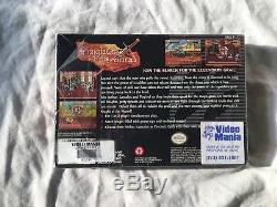 Knights of the Round Super Nintendo SNES Complete in Box, CIB